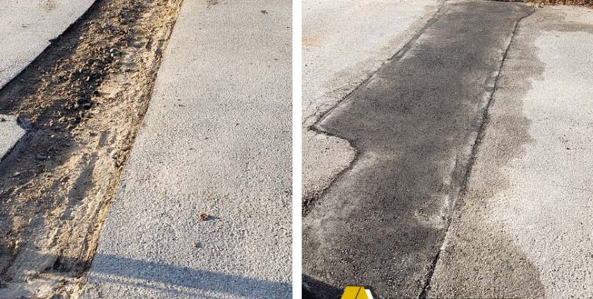 Asphalt repair, Pinellas County Fl