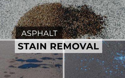 How To Remove Stains From Asphalt Driveways and Parking Lots