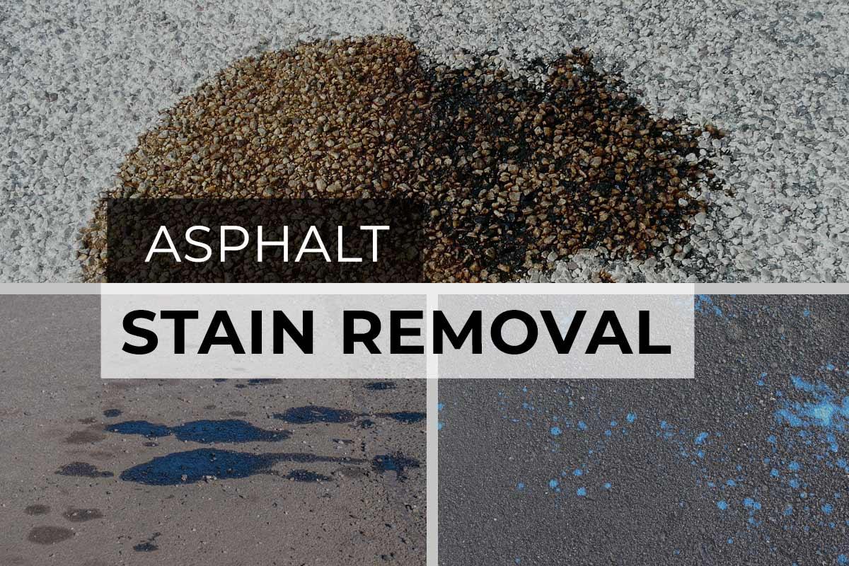 Asphalt Stain Removal