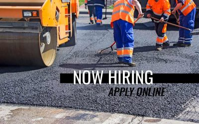 Now Hiring Asphalt Workers
