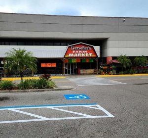Parking Lot Stripping in Sarasota