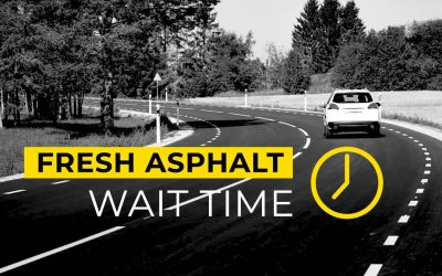 How Long Before We Can Drive On Fresh Asphalt & Sealcoating?
