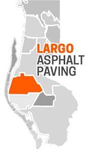 Largo Asphalt Paving Company Map