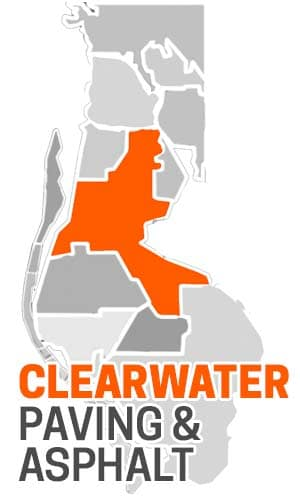 Clearwater, FL Asphalt Paving Company Map