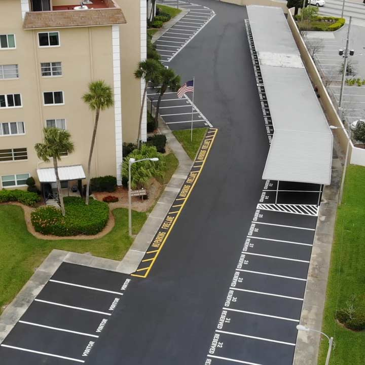 Parking Lot Paving Company Clearwater,, FL