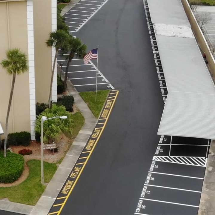 Parking Lot Paving Company Pinellas Park, FL