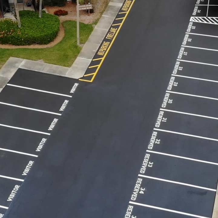 Parking Lot Paving Company St Petersburg, FL