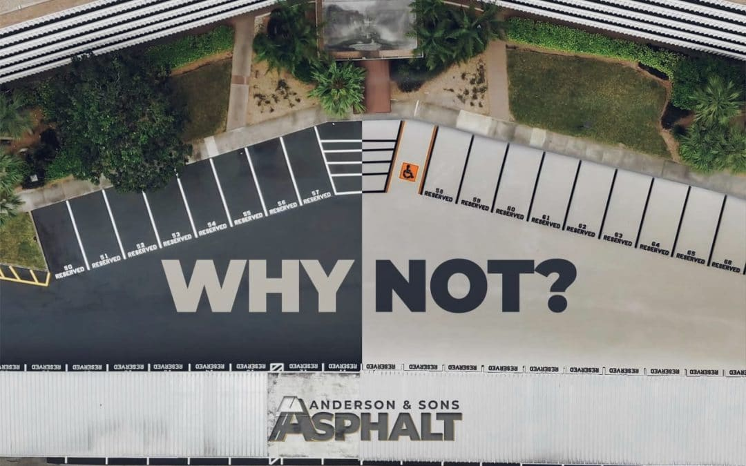 Could Asphalt Parking Lots & Roads be White Instead of Black?