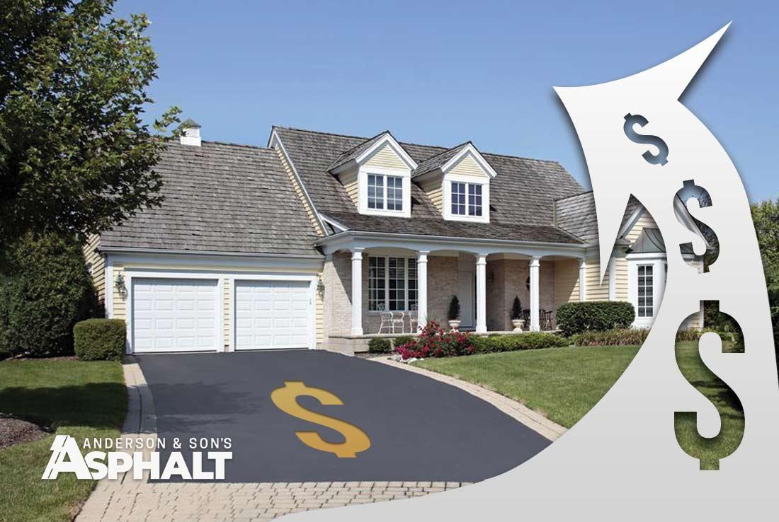 Asphalt Driveway Pinellas Home Value
