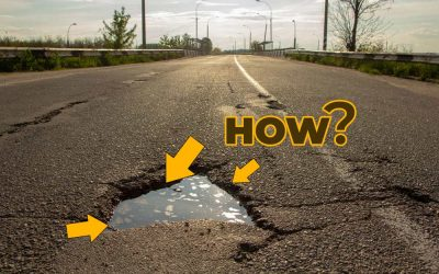 How Asphalt Potholes Form and the Repair Process