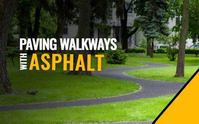 Walkway and Sidewalk Paving with Asphalt in St. Petersburg, Fl