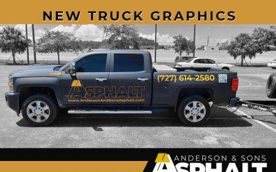 New Asphalt Truck Graphics